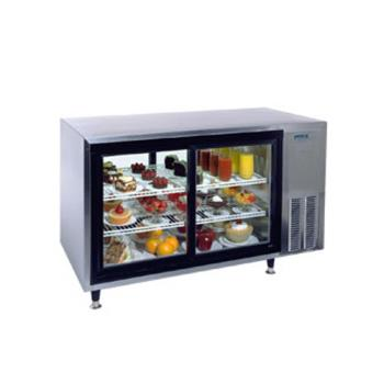 "SILSKDC48PTC1 - Silver King - SKDC48PT/C1 - 48"" Refrigerated Pass-Thru Countertop Display Case Product Image"