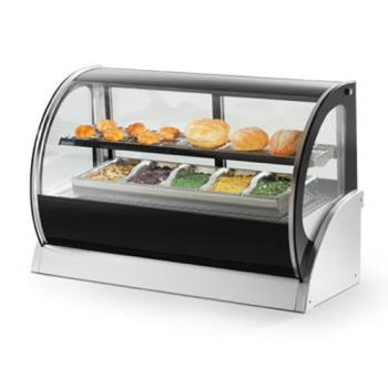 "VOL40852 - Vollrath - 40852 - 36"" Curved Glass Refrigerated Display Cabinet Product Image"