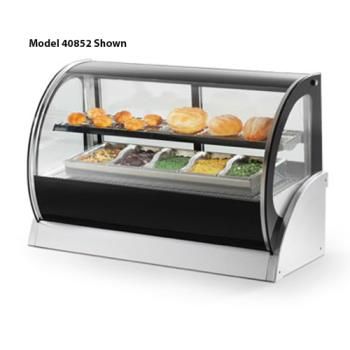"VOL40854 - Vollrath - 40854 - 60"" Curved Glass Refrigerated Display Cabinet Product Image"