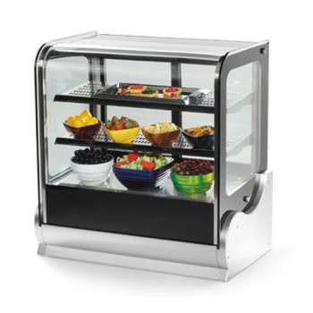 "VOL40863 - Vollrath - 40863 - 48"" Cubed Glass Refrigerated Display Cabinet Product Image"
