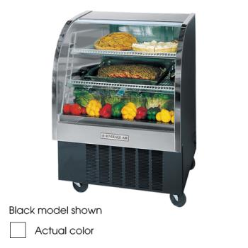 BEVCDR31W20 - Beverage Air - CDR3/1-W-20 - 37 in White Refrigerated Display Case Product Image