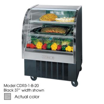 BEVCDR41S20 - Beverage Air - CDR4/1-S-20 - 49 in Stainless Steel Refrigerated Display Case Product Image