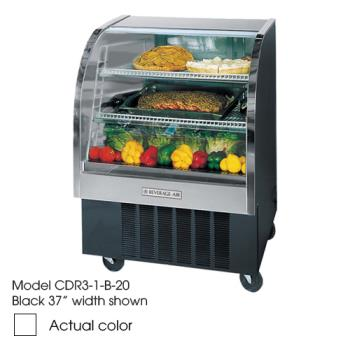 BEVCDR41W20 - Beverage Air - CDR4/1-W-20 - 49 in White Refrigerated Display Case Product Image