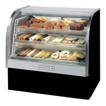 BEVCDR61B20 - Beverage Air - CDR6/1-B-20 - 73 in Black Refrigerated Display Case Product Image