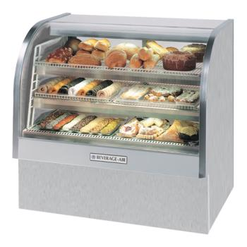BEVCDR61S20 - Beverage Air - CDR6/1-S-20 - 73 in Stainless Steel Refrigerated Display Case Product Image