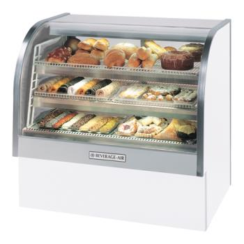 BEVCDR61W20 - Beverage Air - CDR6/1-W-20 - 73 in White Refrigerated Display Case Product Image