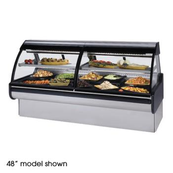 "FEDMCG654DC - Federal - MCG-654-DC - Curved Glass 72"" Refrigerated Maxi Deli Case Product Image"