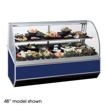 "FEDSN8CD - Federal - SN-8CD - Series '90 96"" Refrigerated Deli Case Product Image"