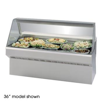 "FEDSQ6CD - Federal - SQ-6CD - Market Series 72"" Refrigerated Deli Case Product Image"