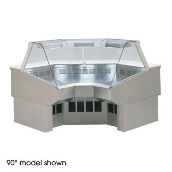 FEDSQRIC45 - Federal - SQ-RIC45 - Market  Series Refrigerated 45° Inside Corner Deli Case Product Image