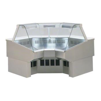FEDSQRIC90 - Federal - SQ-RIC90 - Market Series Refrigerated 90° Inside Corner Deli Case Product Image