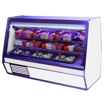 "HWDSCCDS32E4 - Howard McCray - SC-CDS32E-4 - 50"" x 49 3/5"" White Deli Case Product Image"