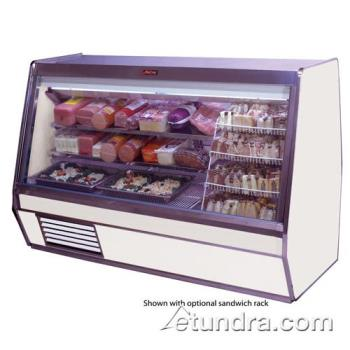 "HWDSCCDS32E6B - Howard McCray - SC-CDS32E-6-B - 74"" x 49 3/5"" Black Deli Case Product Image"