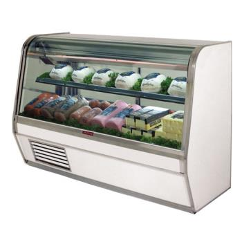 "HWDSCCDS32E8CLS - Howard McCray - SC-CDS32E-8C-LS - 98"" x 50 1/2"" White Deli Case Product Image"