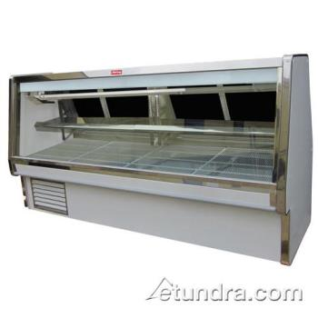"HWDSCCDS34E10 - Howard McCray - SC-CDS34E-10 - 124 1/2"" x 53 1/2"" White Deli Case Product Image"