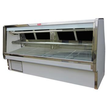 "HWDSCCDS34E12 - Howard McCray - SC-CDS34E-12 - 148 1/2"" x 53 1/2"" White Deli Case Product Image"