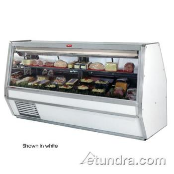 "HWDSCCDS40E10B - Howard McCray - SC-CDS40E-10-B - 124 1/2"" x 53"" Black Deli Case Product Image"