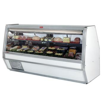 "HWDSCCDS40E8 - Howard McCray - SC-CDS40E-8 - 100 1/2"" x 53"" White Deli Case Product Image"