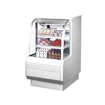 TURTCDD362H - Turbo Air - TCDD-36-2-H - 36 in High Profile Refrigerated Deli Case Product Image
