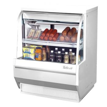 TURTCDD362L - Turbo Air - TCDD-36-2-L - 36 in Low Profile Refrigerated Deli Case Product Image
