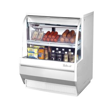 TURTCDD36LWN - Turbo Air - TCDD-36L-W-N - 36 in Low-Profile Refrigerated Deli Case Product Image
