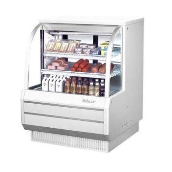 TURTCDD482H - Turbo Air - TCDD-48-2-H - 48 in High Profile Refrigerated Deli Case Product Image
