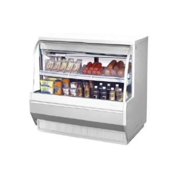 TURTCDD482L - Turbo Air - TCDD-48-2-L - 48 in Low Profile Refrigerated Deli Case Product Image