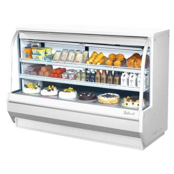 TURTCDD722H - Turbo Air - TCDD-72-2-H - 72 in High Profile Refrigerated Deli Case Product Image