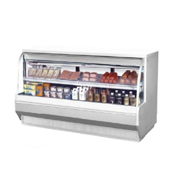 TURTCDD722L - Turbo Air - TCDD-72-2-L - 72 in Low Profile Refrigerated Deli Case Product Image