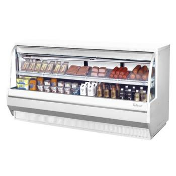TURTCDD964L - Turbo Air - TCDD-96-4-L - 96 in Low Profile Refrigerated Deli Case Product Image