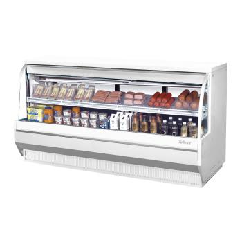 TURTCDD96LWN - Turbo Air - TCDD-96L-W-N - 96 in Low-Profile Refrigerated Deli Case Product Image
