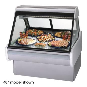 "FEDMSG854DF - Federal - MSG-854-DF - High Volume 96"" Seafood/Fish Maxi Deli Case Product Image"