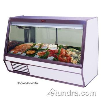 "HWDSCCFS32E4B - Howard McCray - SC-CFS32E-4-B - 50"" x 49 3/5"" Black Fish/Poultry Case Product Image"