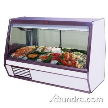 "HWDSCCFS32E6 - Howard McCray - SC-CFS32E-6 - 74"" x 49 3/5"" White Fish/Poultry Case Product Image"