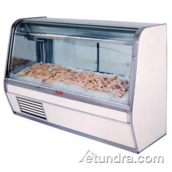 "HWDSCCFS32E6C - Howard McCray - SC-CFS32E-6C - 74"" x 50 1/2"" White Fish/Poultry Case Product Image"