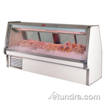 "HWDSCCFS34E6 - Howard McCray - SC-CFS34E-6 - 76 1/2"" x 53 1/2"" White Fish/Poultry Case Product Image"