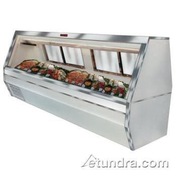 "HWDSCCFS3512 - Howard McCray - SC-CFS35-12 - 143"" White Double Duty Fish/Poultry Case Product Image"