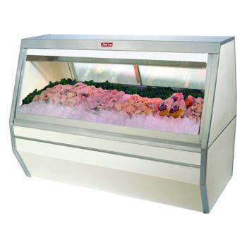 "HWDSCCFS354 - Howard McCray - SC-CFS35-4 - 50"" White Double Duty Fish/Poultry Case Product Image"