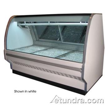 "HWDSCCFS40E6CB - Howard McCray - SC-CFS40E-6C-B - 75 x 53""  Black Fish/Poultry Case Product Image"