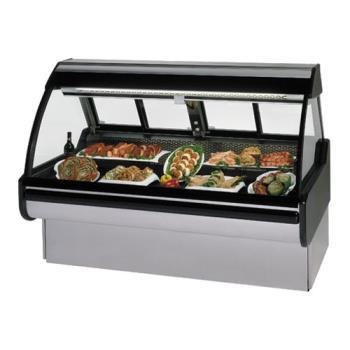 "FEDMCG454DM - Federal - MCG-454-DM - Curved Glass 48"" Red Meat  Maxi Deli Case Product Image"