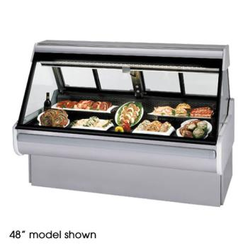 "FEDMSG654DM - Federal - MSG-654-DM - High Volume 72"" Red Meat Maxi Deli Case Product Image"