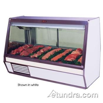 "HWDSCCMS32E4B - Howard McCray - SC-CMS32E-4-B - 50"" x 49 3/5"" Black Meat Case Product Image"