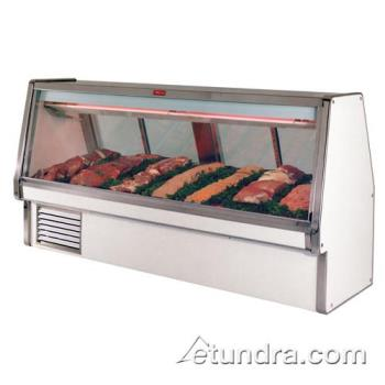 "HWDSCCMS34E10 - Howard McCray - SC-CMS34E-10 - 124 1/2"" x 53 1/2"" White Red Meat Case Product Image"