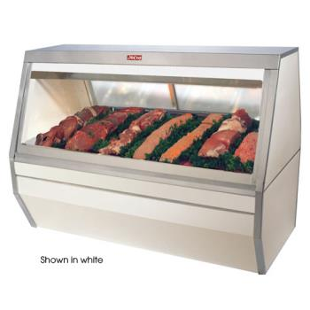 HWDSCCMS3512B - Howard McCray - SC-CMS35-12-BE-LED - 143 in Black Double Duty Red Meat Case Product Image