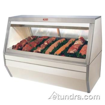 "HWDSCCMS356 - Howard McCray - SC-CMS35-6 - 71"" White Double Duty Red Meat Case Product Image"