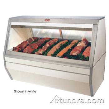 "HWDSCCMS356B - Howard McCray - SC-CMS35-6-B - 71"" Black Double Duty Red Meat Case Product Image"