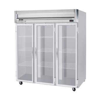 BEVHF3HC5G - Beverage Air - HF3-5G - HF Series 3 Glass Door Reach-In Freezer Product Image