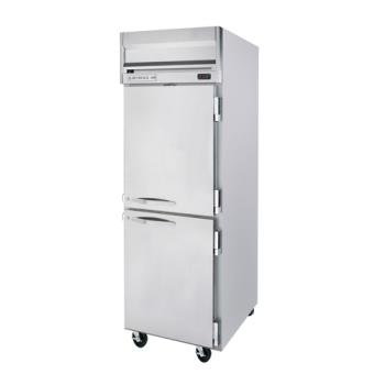 BEVHFPS1HC1HS - Beverage Air - HFPS1HC-1HS - HFPS (2) 1/2 Solid Door Reach-In Freezer Product Image