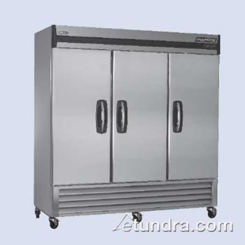 Nor Lake Nlf72 S Advantedge 3 Door Reach In Freezer