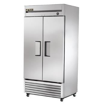 true 3 door freezer manual